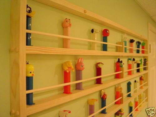 Pez Monster Display Shelf Rack Holds Other
