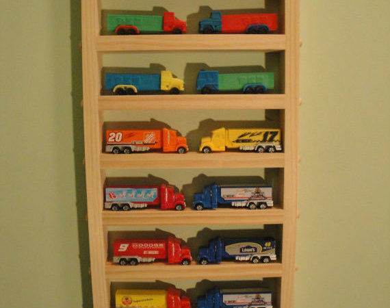 Pez Truck Medium Display Shelf Holds Trucks Ebay