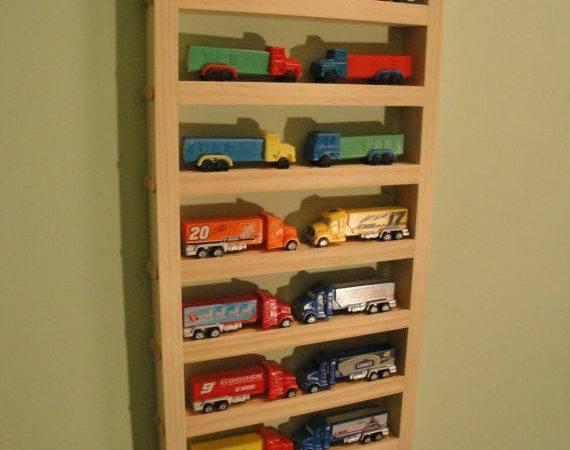 Pez Trucks Medium Display Shelf Holds Contemporary