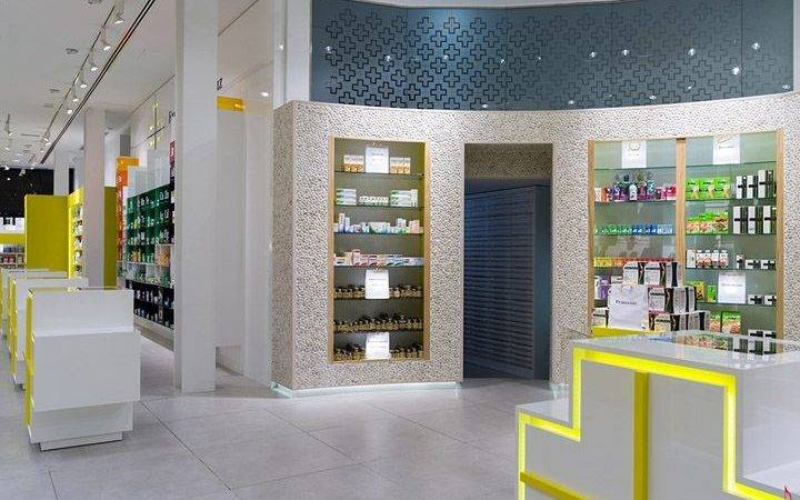 Pharmacy Design Retail Inside Shop Cosmetic Store