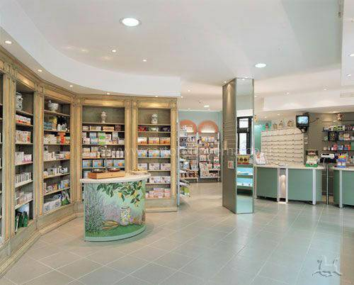 Pharmacy Store Interior Design Fitting Complementary Therapies
