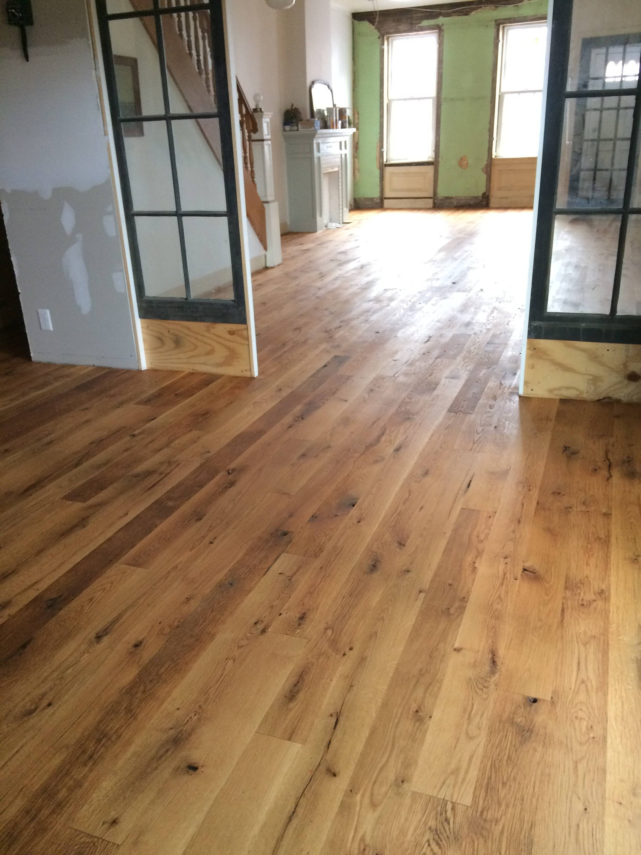 Philadelphia Reclaimed Oak Flooring Planks Patchwood