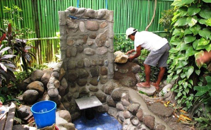 Philippines Phil Fishpond Build After One Week
