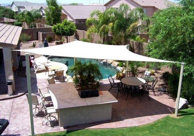 Phoenix Pool Hat Shade Canopy Shaw Butte Pinterest