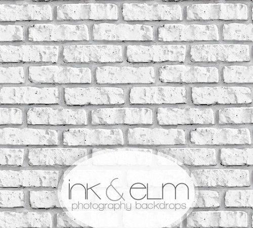 Photography Backdrops White Brick Backdrop Old Town Bricks