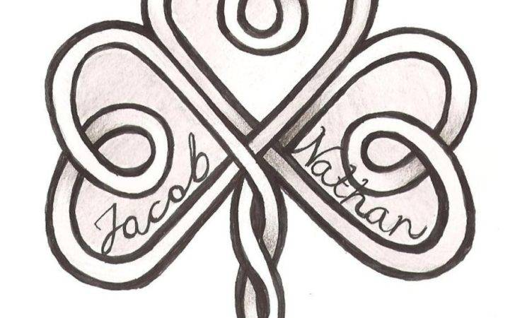 Photos Celtic Design Tattoos Knot Hearts Shamrock Tattoo
