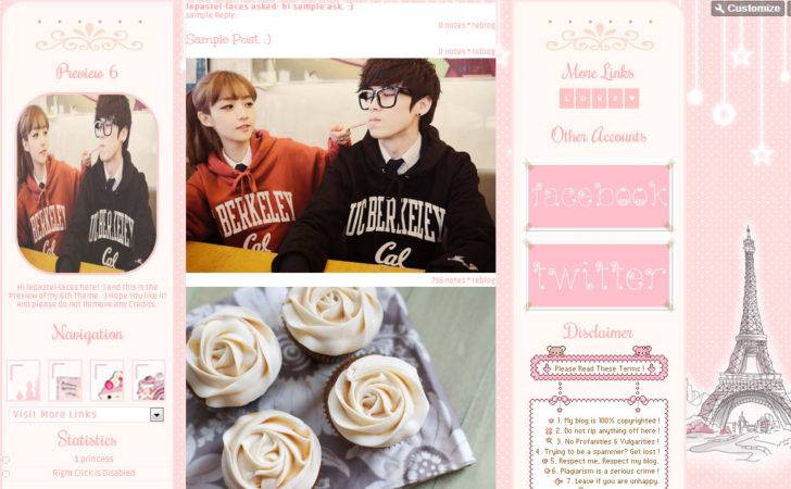Photos Twitter Tumblr Themes Theme Pink Tan