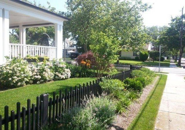 Picket Fence Beach Style Home Fencing Gates