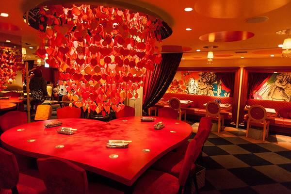 Pics Photos Alice Wonderland Restaurant Design Architecture