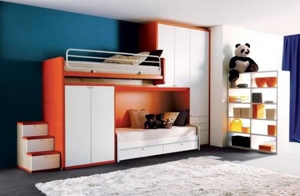 Pics Photos Beds Furniture Modern Kids Bedroom Interior