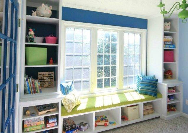 Pics Photos Built Bookcase Around Window Heater