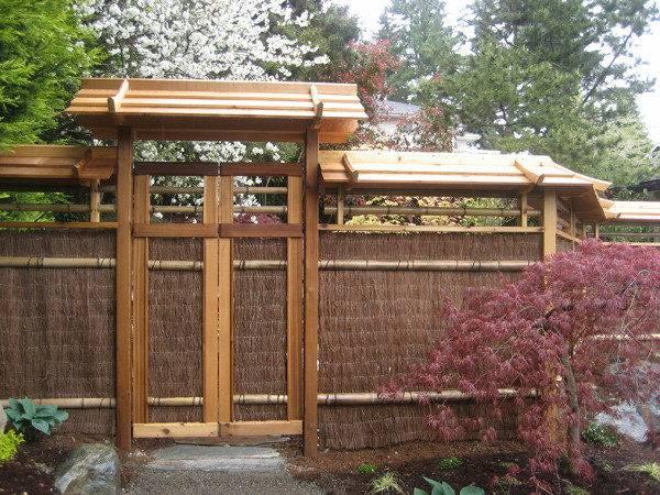 Pics Photos Cedar Gate Fence Japanese Garden Style