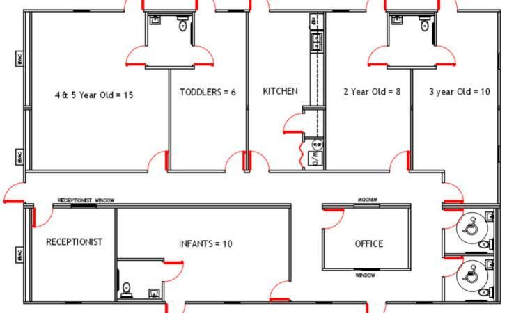 Pics Photos Design Studio Daycare Center Floor Plan Autocad