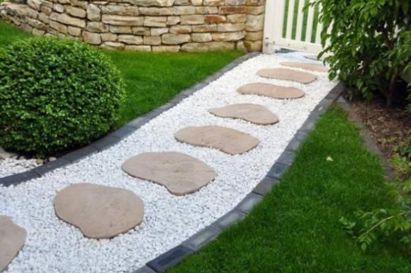 Pics Photos Garden Path Ideas Stepping Stone Walkways