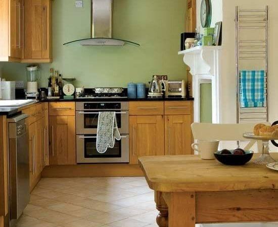 Pics Photos Green Walls Kitchen