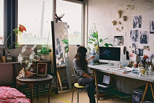 Pics Photos Home Art Studio Ideas Interior Design Reflecting