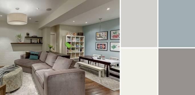 Pics Photos Palette Guide Basement Paint Colors