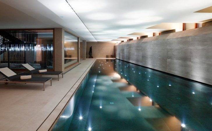 Pics Photos Private Swimming Pool Indoor Modern