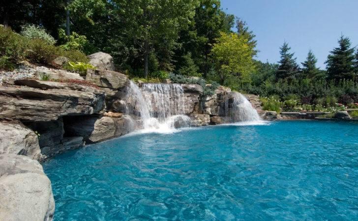 Pics Photos Swimming Pool Waterfalls
