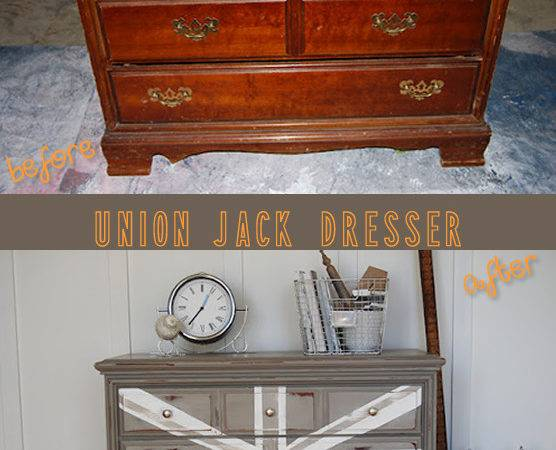 Piece Furniture Introducing Courtney Union Jack Dresser