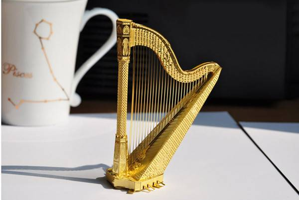 Piececool Diy Metal Harp Puzzle Assembly Decoration Toys Price