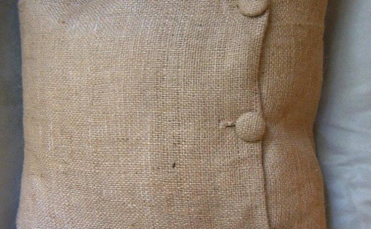 Pillows Cushions Pillow Covers Fabric Diy Burlap