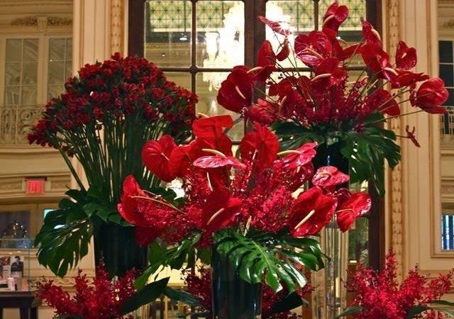 Pin Murat Denizalt Hotel Lobby Flowers Pinterest
