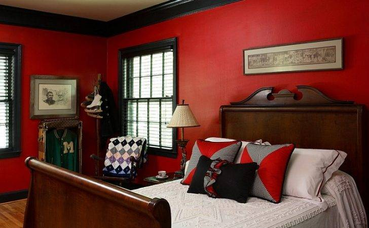 Pin Red Black Bedroom Best