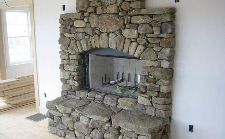 Pin Stone Fireplaces Pinterest