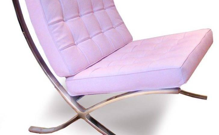 Pink Barcelona Chair Mvw Loves Chairs Pinterest