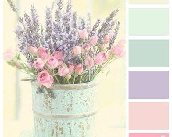 Pink Blush Pastel Green Sage Cream Designcat Colour Inspiration