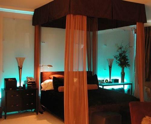 Pink Leaf Villa Unique Bedroom Ideas Design