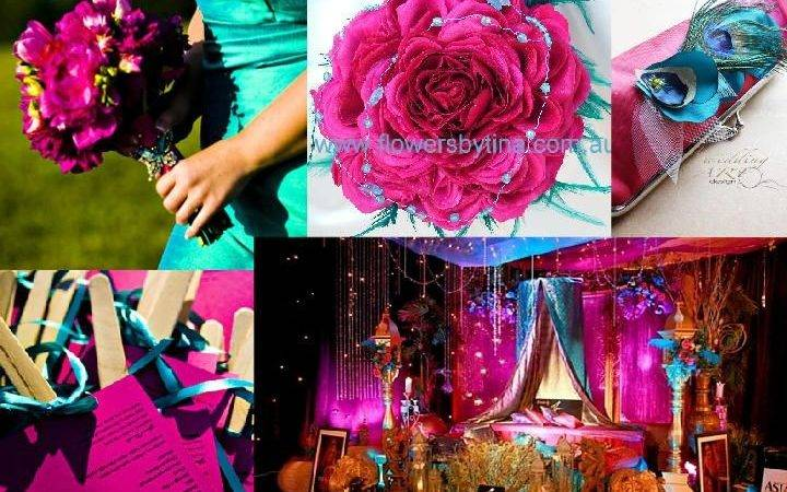 Pink Turquoise Blue Attire Inspiration Boards