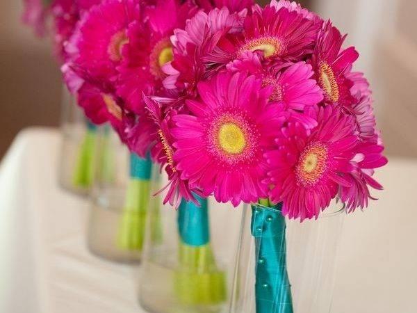 Pink Turquoise Flores Decora Pinterest