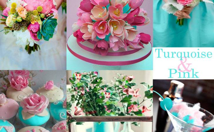 Pink Turquoise Wedding Colors Resh