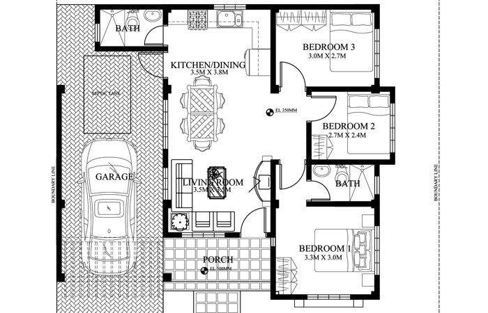 Pinoy House Plan Php Floor