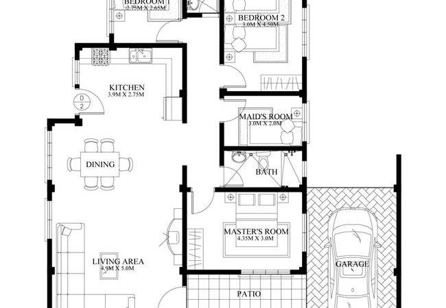 Pinoy House Plans Floor Plan