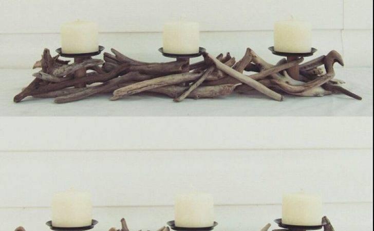 Pinterest Driftwood Sculpture Table Candelabra