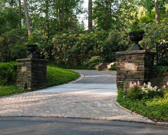 Pinterest Driveways Driveway Landscaping Design