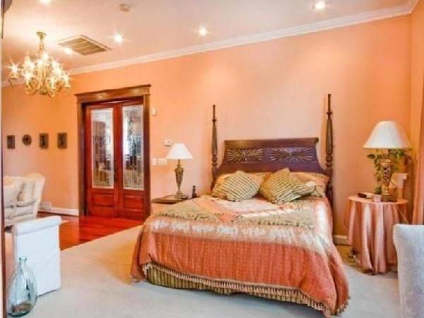 Pinterest Orange Walls Warm Bedroom Colors