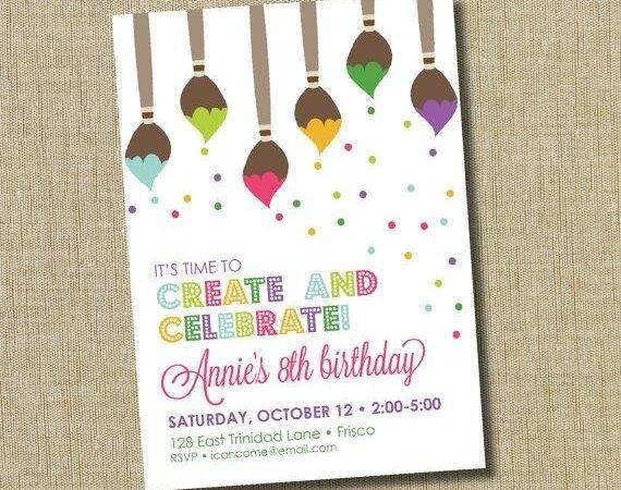 Pinterest Paint Party Birthday Parties Art