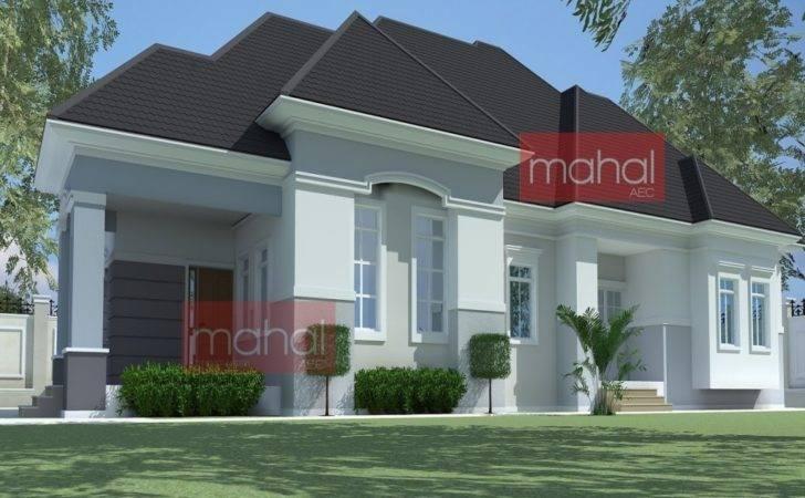 Plan Nigeria Bedroom Bungalow House Plans Nigerian Design