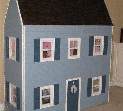 Plans Build Doll House Check Out One Below