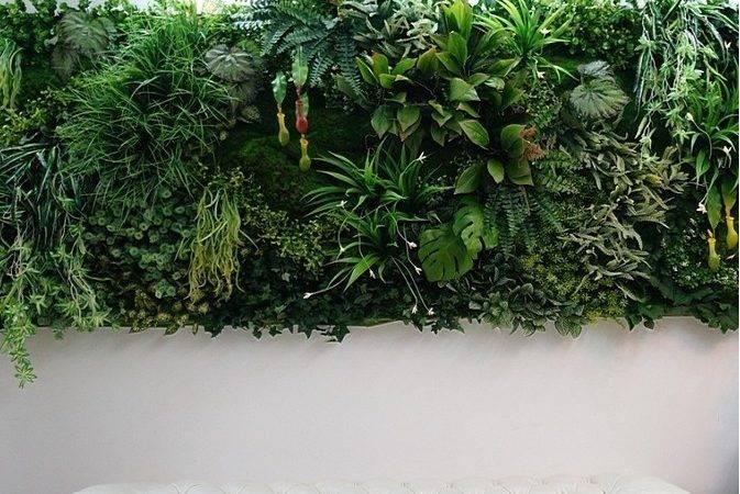 Plant Wall Buy Fake Vertical Green Hanging