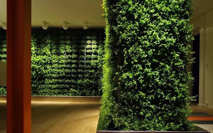 Plant Wall Greenworks Retail Design Blog