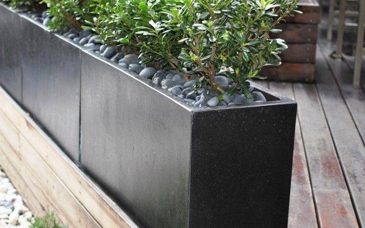 Planters Interesting Outdoor Trough