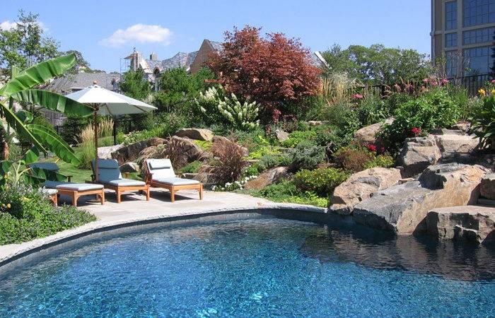 Plantnj Refurbish Your Ambience Backyard Pools