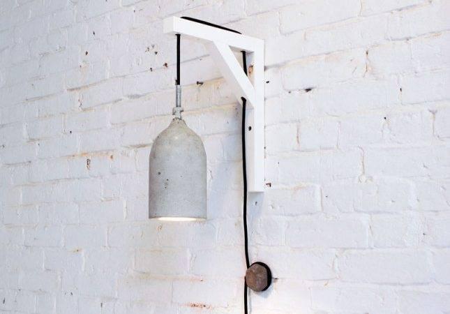 Plastic Bottles Make Concrete Pendant Lamps Brit