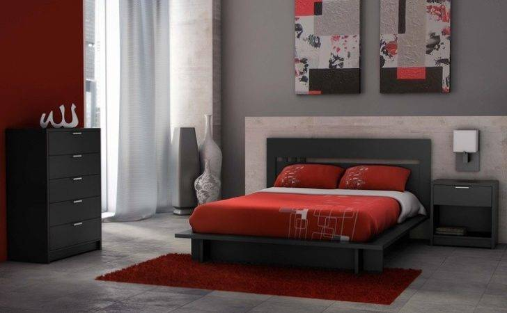 Platform Bed Asian Beds Furniture Milan