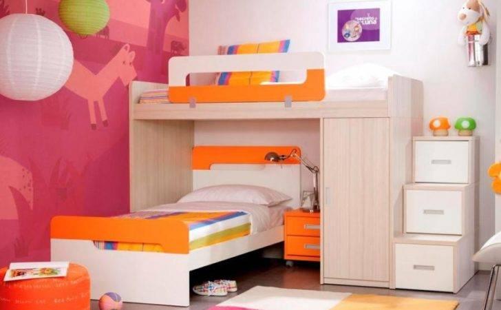 Platform Wardrobe Bunk Beds Optional Bedside Cabinet Step Drawers